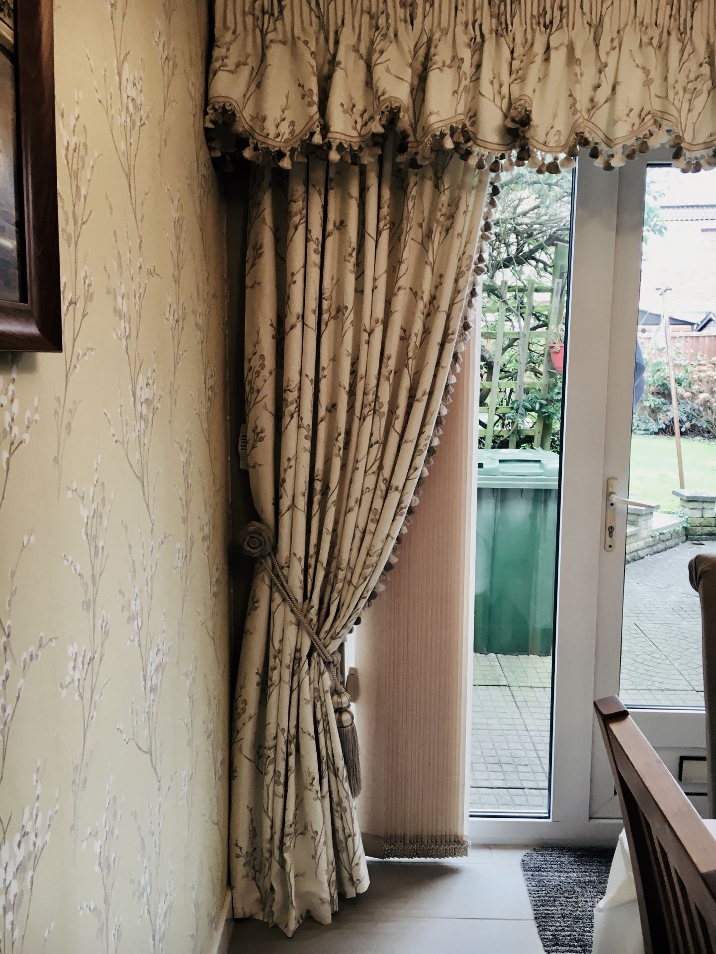 Frilled Valance Curtains