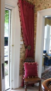 Curtain and Custom Pillow